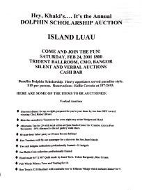 2001 Auction